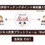 ビジネス売買プラットフォーム「Bish」活用法 その1